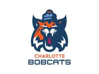 Charlotte Bobcats Concept north carolina charlotte illustrator branding identity sports logo sports logo basketball nba bobcats