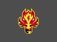 Calgary Flames Logo Concepts identity illustration illustrator sports logo logo flames calgary sports nhl