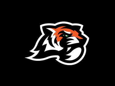 Tiger tiger sports design basketball baseball sports logo design vector illustrator branding cincinnati logo sports