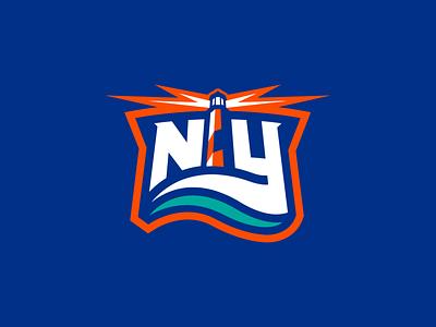 New York Islanders Concept Update hockey logo hockey design sports design islanders new york islanders new york sports concept sports logo nhl hockey design vector identity illustrator branding logo sports