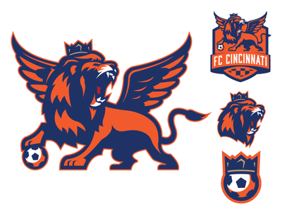 FC Cincinnati Concept logo sports branding sports cincinnati ohio fc cincinnati soccer