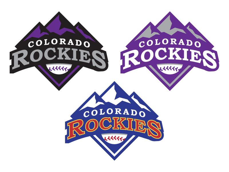 Colorado Rockies Concept Update denver mlb colorado rockies branding icon logo baseball sports