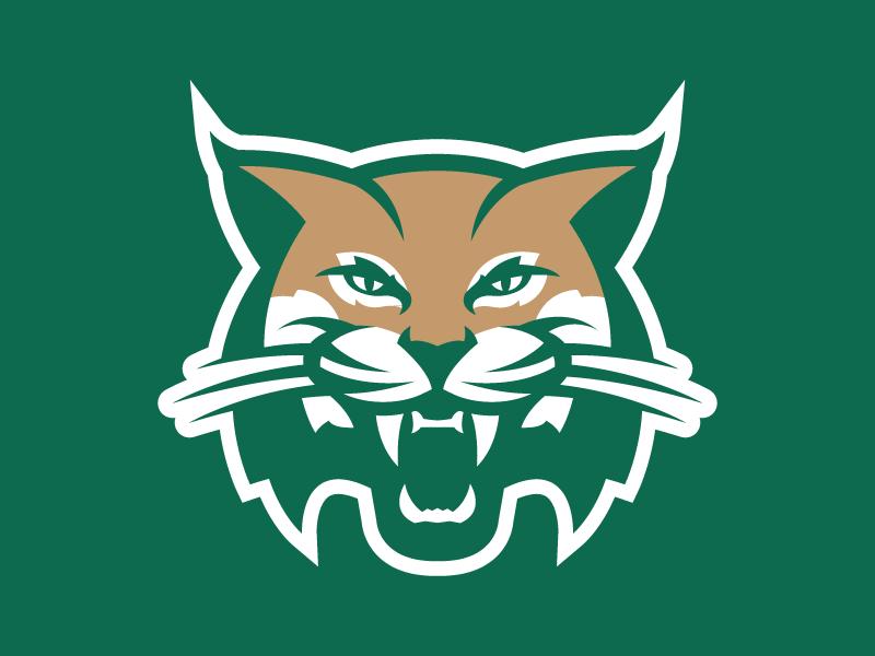 Ohio University Concept 2 branding sports logo ou ohio bobcats