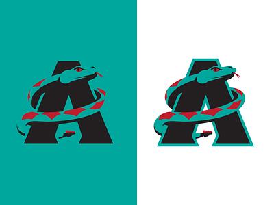 Arizona Diamdondbacks Logo Concept 2 baseball identity branding logo sports diamondbacks dbacks mlb arizona