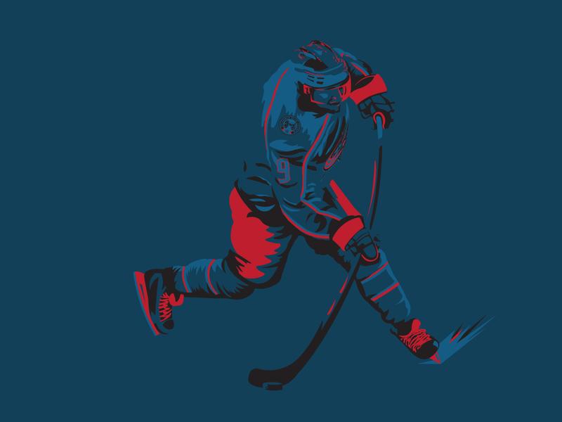 Artemi Panarin Illustration panarin blue jackets columbus blue jackets columbus cbj sports illustration illustration sports nhl hockey