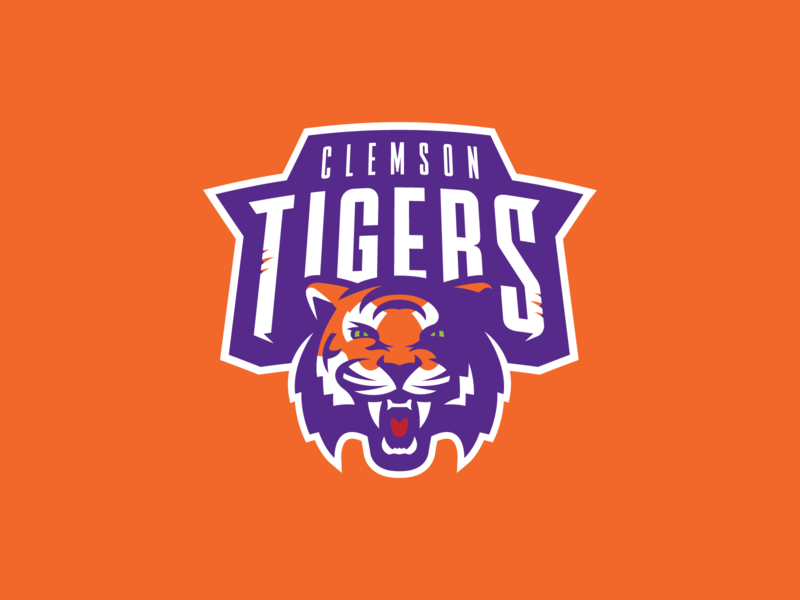 Sean by Clemson Logo McCarthy Concept on -  Tigers Roll