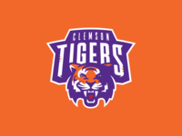 Roll Tigers - Clemson Logo Concept