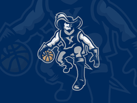 Xavier Basketball Logo Concept