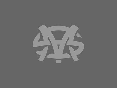 Initials lockups initials graphic design illustrator design ligature lockup