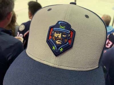 This Is A Hat Now blue jackets design logo branding illustrator vector hockey sports playoffs stanley cup nhl columbus cbj