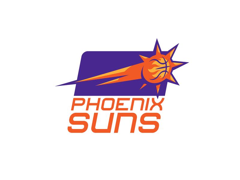 Phoenix Suns Brand Concept photoshop sports logo logo design logo branding sports branding sports basketball nba arizona suns phoenix
