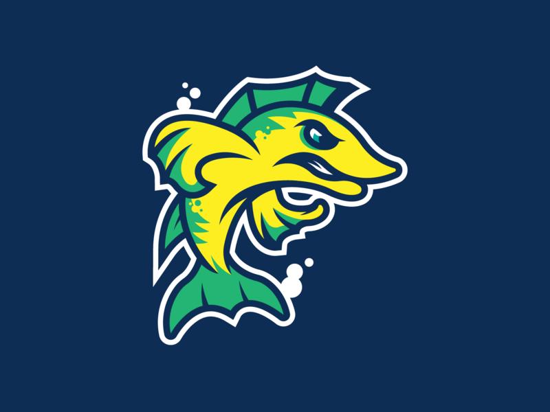 Fish identity illustration illustrator branding logo sports