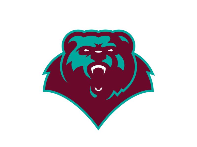 Bear Logo vector brand branding sports branding sports sports logo logo design illustrator grizzlies grizzly logo