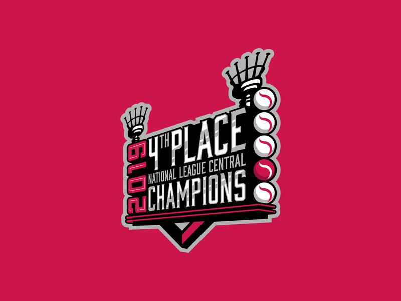 4th Place Champions branding ohio vector design illustrator logo illustration sports logo design mlb sports logo sports baseball cincinnati