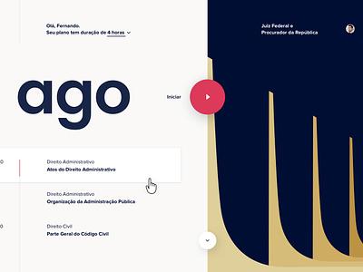 Studying platform reading text web illustration identity website ux ui typography type minimal lettering branding ux design design product study system platform studying