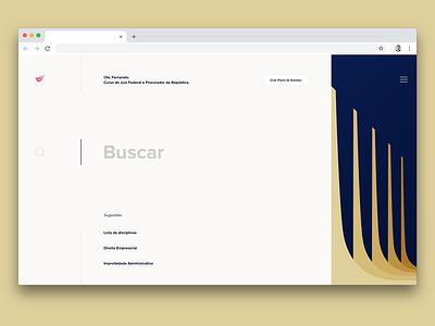 Studying platform minimal lettering type website branding ux ui typography ux design system studying study product platform design