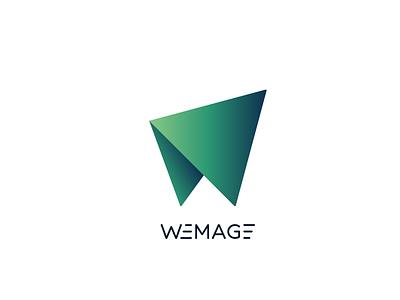 WEMAGE logo icon flat graphic design logo designer typography minimal illustration design vector brand identity branding logo creation logo logodesign