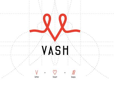 VASH logo illustration icon logo vector graphic design design branding brand identity