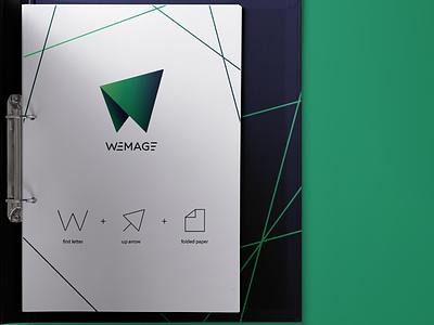 WEMAGE icon vector logo graphic design design branding brand identity