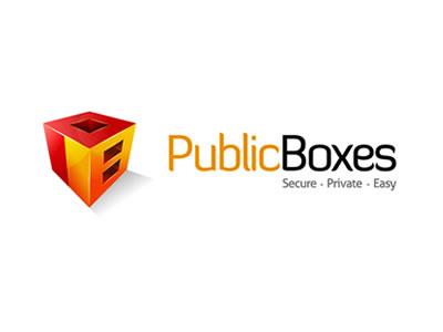 Publicboxes identity logo design brand brand identity
