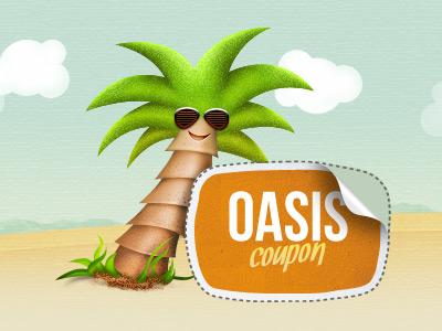 Oasiscoupon design