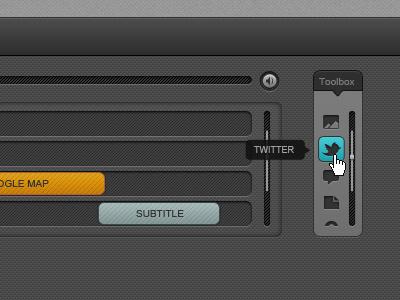 Mozilla Popcorn Maker Tool UI Design ui layers track tools tool box