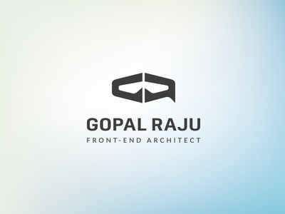 Gopalraju Logo symbol mark logo branding