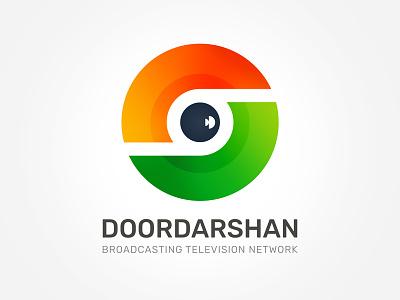 Doordarshan Logo channel mark branding symbol logo