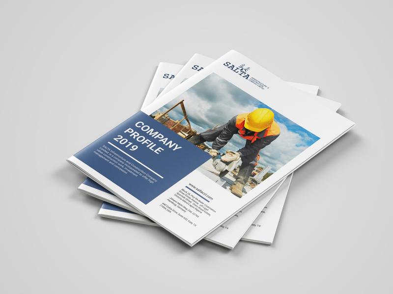 Corporate Company Brochure visual branding branding epower salta