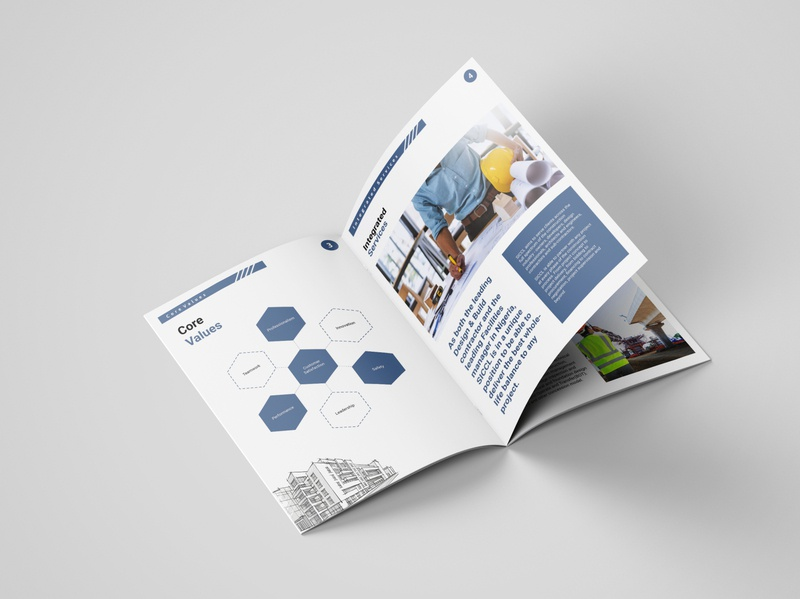 Corporate Brochure branding and identity corporate profile company brochure branding epower ng