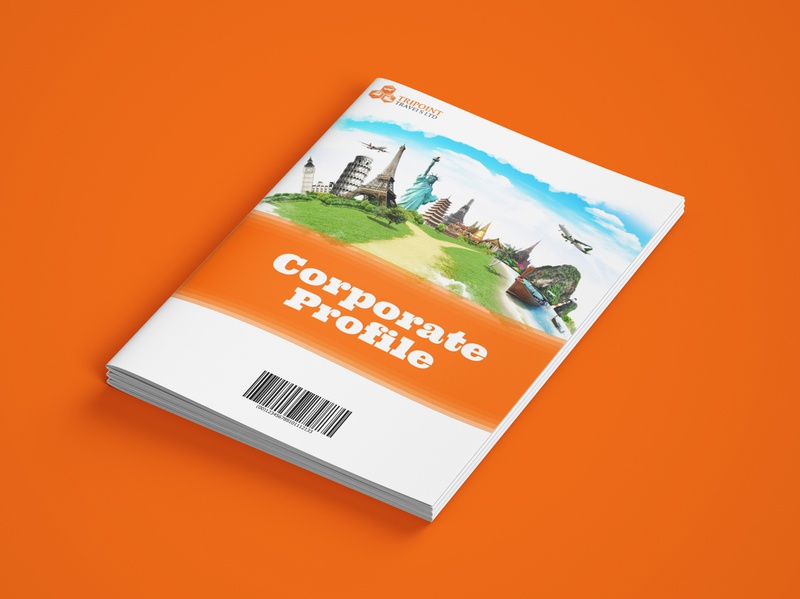 Tripoint Travels visual branding epower ng branding company brochure