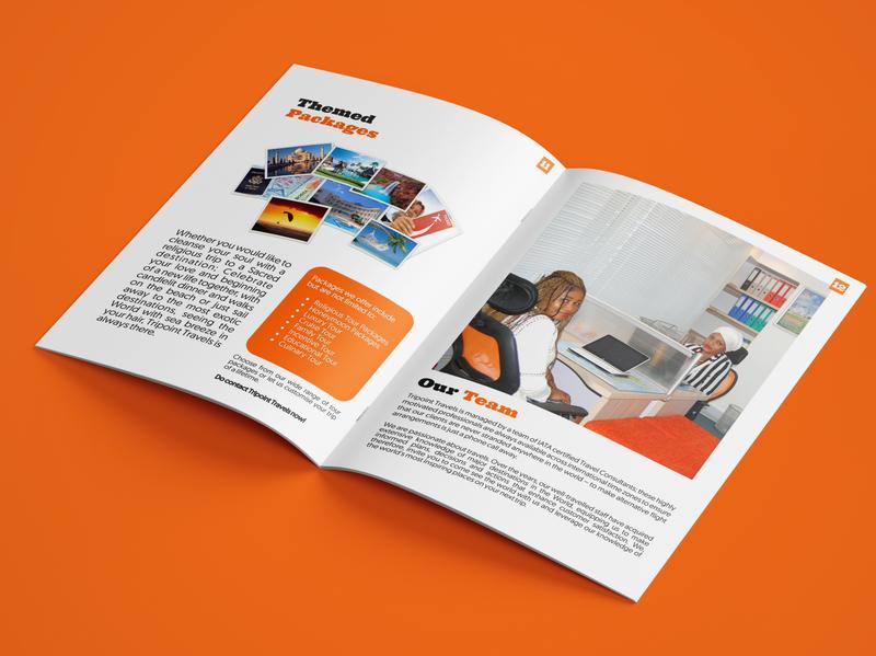 Travel Agency Corporate Profile corporate profile company brochure epower travel agency