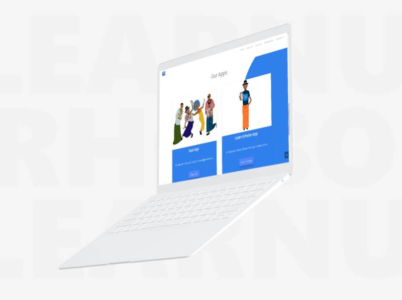 Learn Urhobo web app web design epower ng website