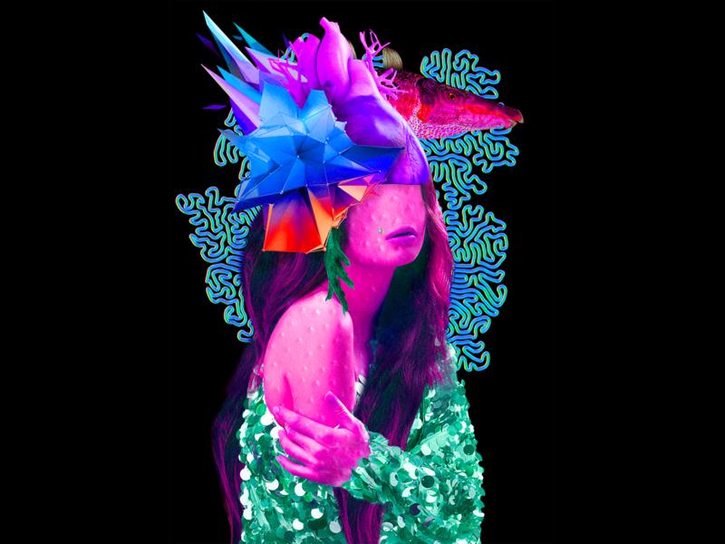 Digital Collage - Vanity