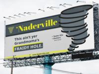 'Naderville Tornado Shelters (Billboard Design)