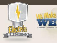 Electric Brick Company Logo