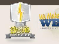 Electric Brick Company Logo Hover