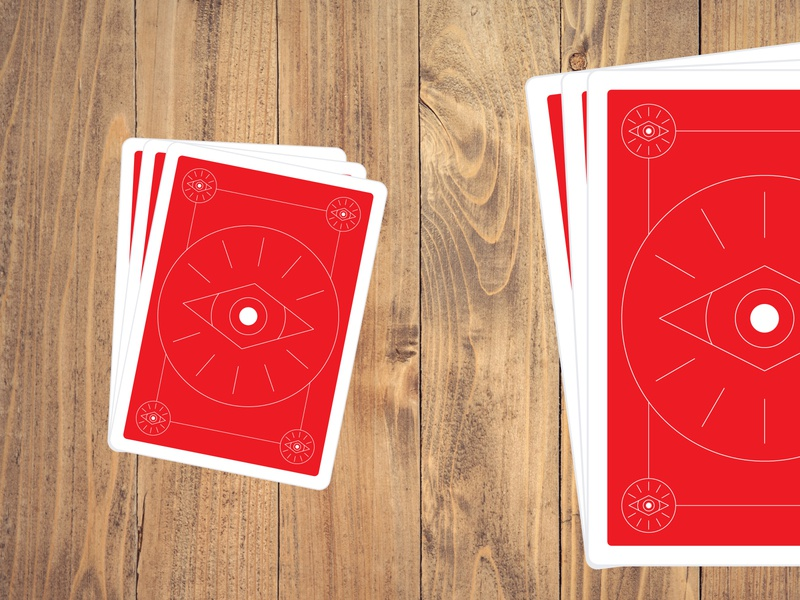 Playing Cards Back | Eye