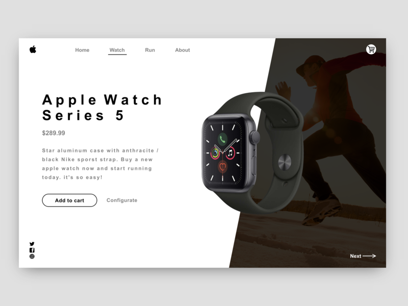 iwatch web page