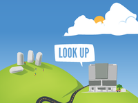 Look Up Infographic