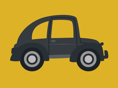 Pennapps - Atlasnav car vector illustration flat