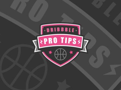Dribbble Pro Tips