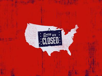 America: Current Status pandemic 2020 social distancing quarantine covid19 coronavirus america illustration texture