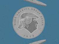2016 coin flip, Trump