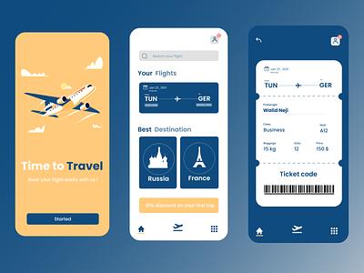 Booking App app design graphic design vector illustration ux ui