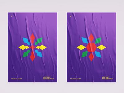 Abstract Polygon Exploration logo designer designer poster design dribbble exploration abstract design abstract modern logo letterlogo icon lettermark logo abstract logo logo design graphic design branding brand identity