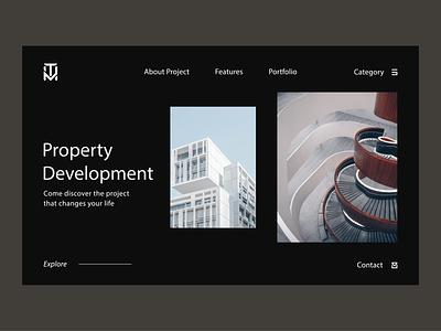 Landing Page Design letterlogo lettermark logo design graphic design abstract logo branding brand identity