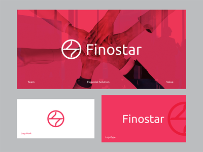 Finostar Company financial letterlogo lettermark logo design graphic design abstract logo branding brand identity