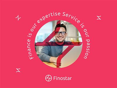 Finostar design letterlogo lettermark logo design graphic design abstract logo branding brand identity