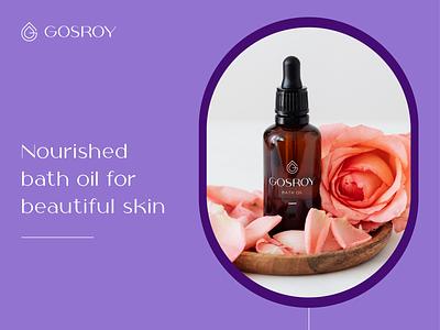 Gosroy Application brand oli brand oil beauty skin care letterlogo lettermark logo design graphic design abstract logo branding brand identity